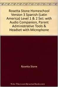 Rosetta Stone Personal Edition Hebrew Level 1, 2 & 3 CD-ROM Set
