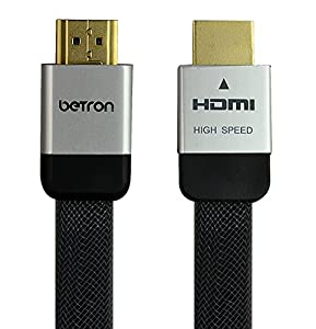 High Speed (Category 2) 1.2 Meter Gold Plated HDMI to HDMI cable with 3D, Ethernet and Audio Return Channel