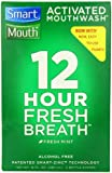 SmartMouth Alcohol-Free Mouthwash, Fresh Mint, 8-Ounce Bottles (Pack of 2)