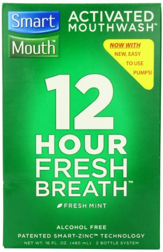 SmartMouth Mouthwash Fresh Mint 16 oz (Pack of 2)