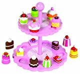 Tidlo High Tea Shape Matching Cupcake Set (Pink)