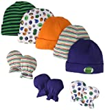 Gerber Baby-Boys Newborn Sports Cap And Mitten Bundle
