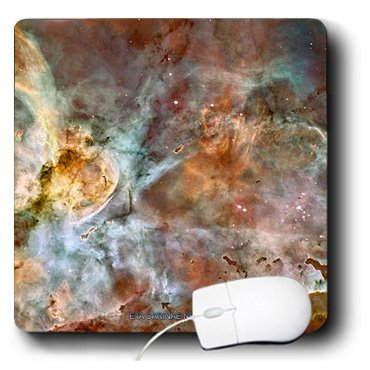 3Drose Llc 8 X 8 X 0.25 Inches Mouse Pad, Eta Carinae Nebula By Nasa Hubble Telescope (Mp_76816_1)