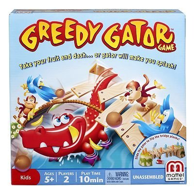 Greedy Gator Game by Mattel toy gift idea birthday