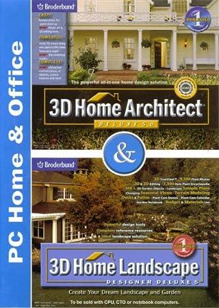 Broderbund 3D Home Architect Deluxe 5.0 & 3D Home Landscape Designer Deluxe 5
