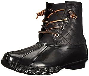 Steve Madden Women's Tillis Winter Boot, Black/Multi, 9 M US
