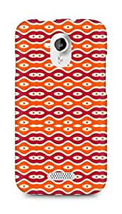Amez designer printed 3d premium high quality back case cover for Micromax Canvas HD A116 (Texture2)