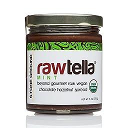 Rawtella Vegan Chocolate Hazelnut Spread - Mint Infused