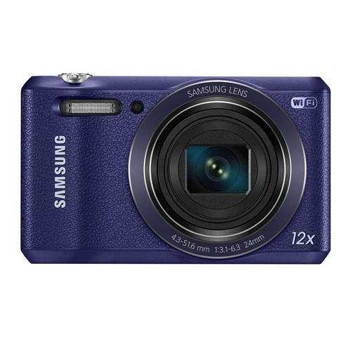Samsung WB35F 16.2MP Smart WiFi & NFC Digital Camera with 12x Optical Zoom and 2.7″ LCD (Plum)