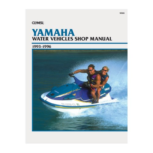 Clymer Yahama Jet Ski And Water Vehicles 1993-1996