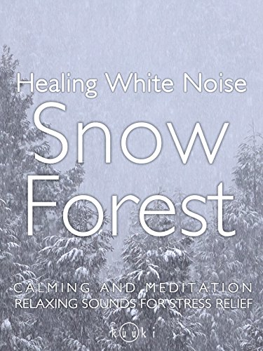 Healing Sound of Nature Snow Forest Calming and Meditation Relaxing Sound for Stress relief