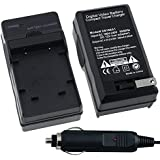 Fuji NP-45 AC / DC Replacement Battery Charger Set