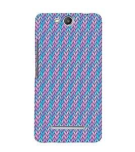 Blue Arrow Cross Cute Fashion 3D Hard Polycarbonate Designer Back Case Cover for Micromax Canvas Juice 3+ Q394 :: Micromax Canvas Juice 3 Plus Q394