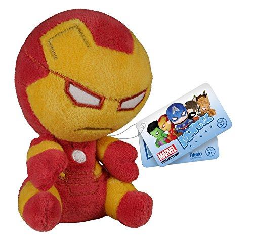 Funko - Peluche Marvel Avengers - Iron Man Mopeez 10Cm - 0849803055875