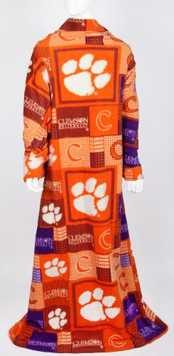 OFFICIALLY LICENSED CLEMSON TIGERS SNUGGIE- CLEMSON TIGERS COLLEGE SNUGGIE- at Amazon.com