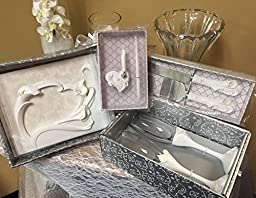 Finishing Touches Collection - calla lily themed wedding day accessory set