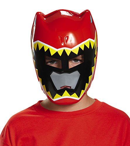 Disguise Red Ranger Dino Charge Vacuform Mask Costume