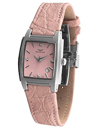 Sandoz 81240-07 - Reloj St. Thomas con diamantes en el dial