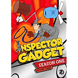 Inspector Gadget Season One: Volume Three