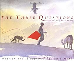 "Cover of ""The Three Questions [Based on a..."