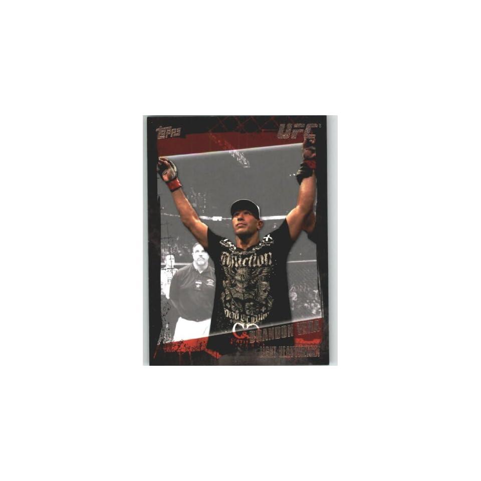 2010 Topps UFC Trading Card # 65 Brandon Vera (Ultimate Fighting