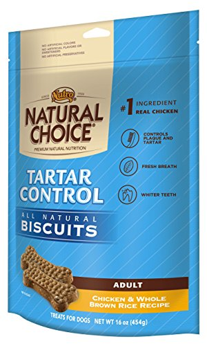 Natural Choice Tartar Control Adult Biscuits Chicken And Whole Brown Rice Recipe - 16 Oz. (454 G)