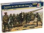 Italeri Italian Cannon 149/40 With Cr...