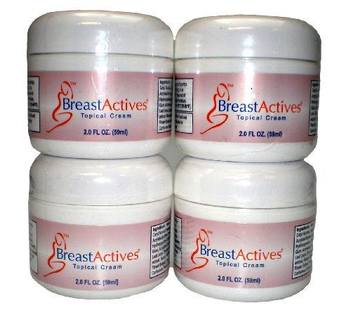 Breast Actives Breast Enhancement Cream (Four Month Supply)