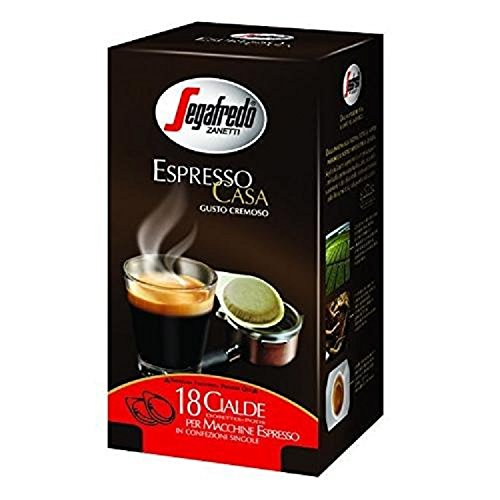 Choose Segafredo Zanetti Espresso Casa 18 Coffee Pods 125g x 3 (375g) from Imported and distributed by: Brodies Melrose Drysdale & Co. Ltd., Musselburgh, EH21 6SY, Scotland, U.K. Produced and packed for: Segafredo Zanetti S.p.A., Rastignano (Bologna), Ita
