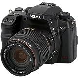 Sigma SD1 Merrill SLR-Digitalkamera (46 Megapixel, 7,6 cm (3 Zoll) Display, CF-Speicherkartenslot) Kit inkl. 18-200/3,5-6,3 II DC OS HSM Objektiv für Sigma Objektivbajonett schwarz