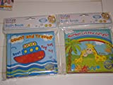 First Steps Count Travel Baby Floating Bath Book Educational Fun Bath Toy for Baby
