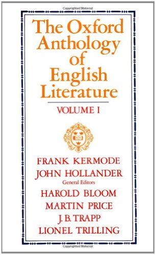 001: The Oxford Anthology of English Literature: Volume I:  The Middle Ages through the Eighteenth Century (Middle Ages Through the Eighteenth Century)
