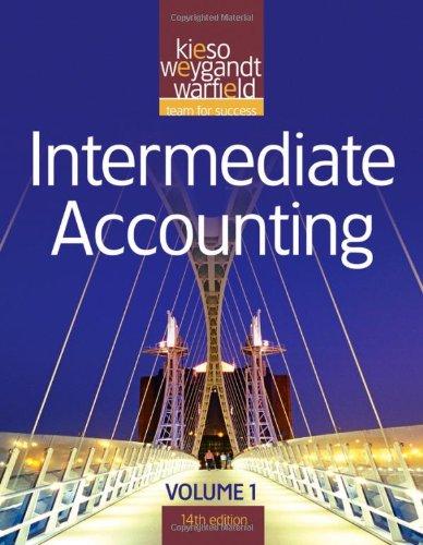 Intermediate Accounting (Volume 1)