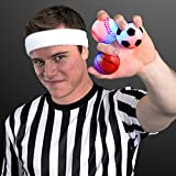 "2.25"" Light Up Mini Sports Balls (Set Of 12)"