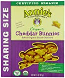 Annie's Homegrown Organic Cheddar Bunnies, 11 Ounce Boxes (Pack of 4)