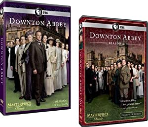 Downton Abbey: Complete Seasons 1 & 2 (6 Discs) from PBS