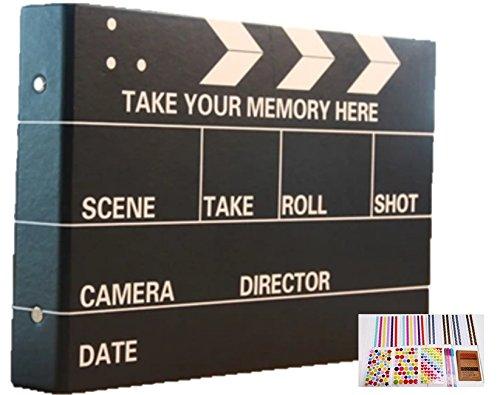 (Fun Market) 映画 カット自分で創る 手作り フォト アルバム DIY 写真集 スクラップ ブッキング 基本 5種類12点 セット