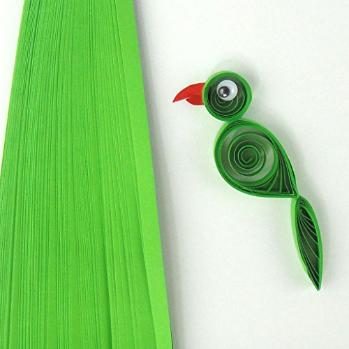 Quill On Quill On Style Me Up Quilling Paper, Light Green