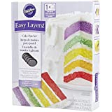 Wilton 2105-0112 Easy Layers! 5-Piece Cake Pan Set, 6-Inch