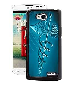Fuson 2D Printed Doctor Logo Designer Back Case Cover for LG L90 - D939