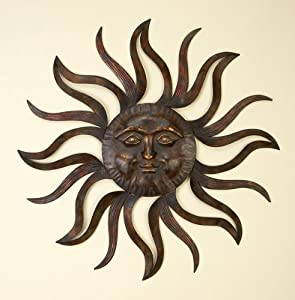 Shop Metal Wall Decor Patio Sun, Garden, Indoor, Outdoor at the ...