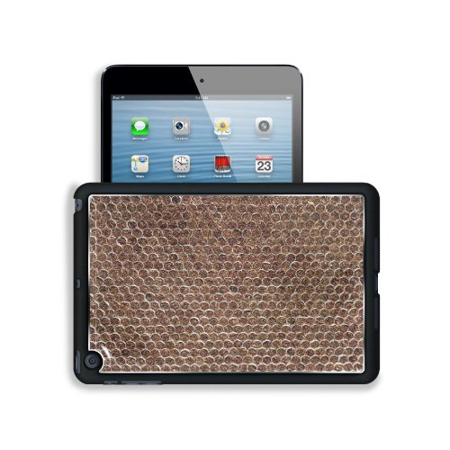 Tobacco Cigarettes Formed Pattern Design Apple Ipad Mini Snap Cover Premium Aluminium Design Back Plate Case Open Ports Customized Made To Order Support Ready 8 Inch (205Mm) X 5 1/2 Inch (140Mm) X 11/16 Inch (17Mm) Msd Ipad Mini Professional Metal Cases A