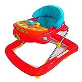 Baby Walker Gehfrei Lauflernhilfe Gehhilfe Laufwagen faltbar Rot NEU
