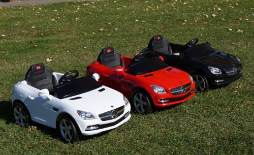 LICENSED Mercedes-Benz SLK 81200 Baby Kids Ride on Power Wheels Toy Car Remote Control