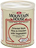 Mountain House #10 Can Oriental Style Rice & Spicy Chicken with Vegetables (10 - 1 cup servings)