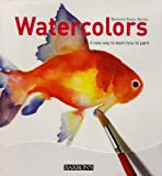 img - for Watercolors: A New Way to Learn How to Paint (Barron's Easel Series) book / textbook / text book