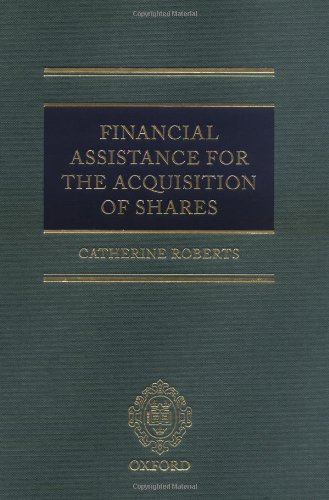 Financial Assistance for the Acquisition of Shares