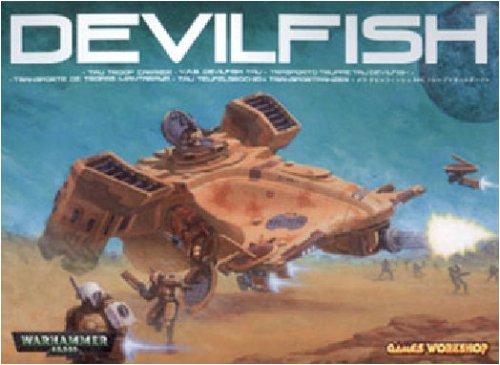 Tau Empire Devilfish APC Tank Warhammer 40k