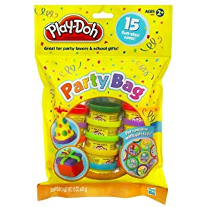 Play-Doh Party Bag Dough, 15 Count (assorted colors - 2-Pack) by Play-Doh