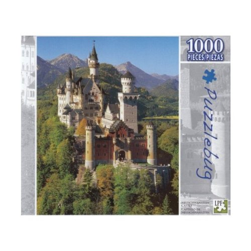 Puzzlebug 1000 Pieces Neuschwanstein Castle - 1